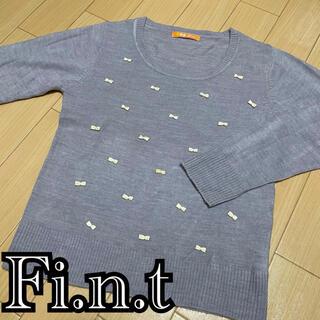 フィント(F i.n.t)のFi.n.t リボンニット(ニット/セーター)
