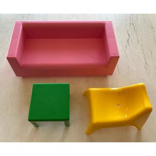 イケア(IKEA)のIKEA ままごと ミニチュア家具セット(知育玩具)