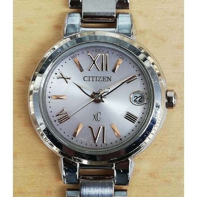 CITIZEN(シチズン)の☆電波ソーラーデイト  シチズン Xc      クロスシー エコドライブ レディースのファッション小物(腕時計)の商品写真