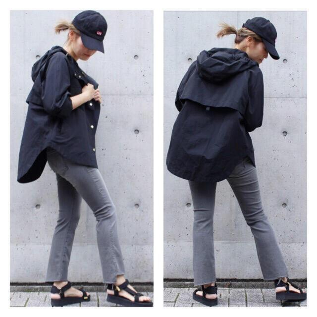 DEUXIEME CLASSE(ドゥーズィエムクラス)のdeuxieme classe♡フードブルゾン レディースのジャケット/アウター(ブルゾン)の商品写真