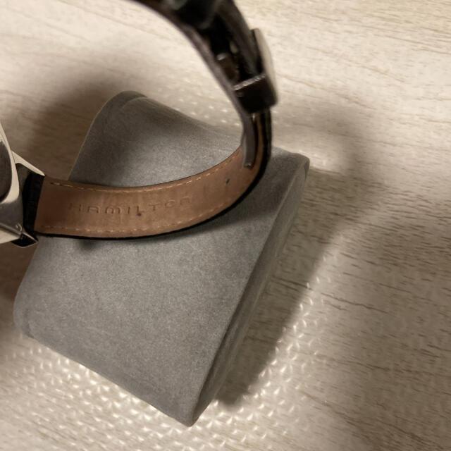 VENTURA(ベンチュラ)の人気品! HAMILTON ベンチュラ H244110 ブラック シルバー 黒銀 メンズの時計(腕時計(アナログ))の商品写真