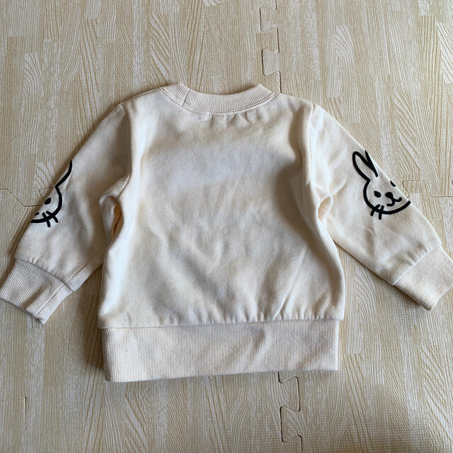 西松屋(ニシマツヤ)の西松屋 ウサギトレーナー 80 キッズ/ベビー/マタニティのベビー服(~85cm)(トレーナー)の商品写真