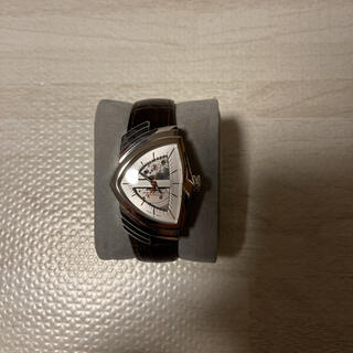 ベンチュラ(VENTURA)の人気品! HAMILTON ベンチュラ H 245150 オートマチック レザー(腕時計(アナログ))