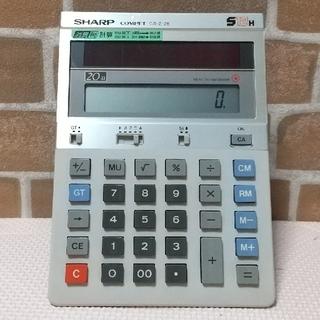 シャープ(SHARP)の  激レア  SHARP  計算機 (オフィス用品一般)