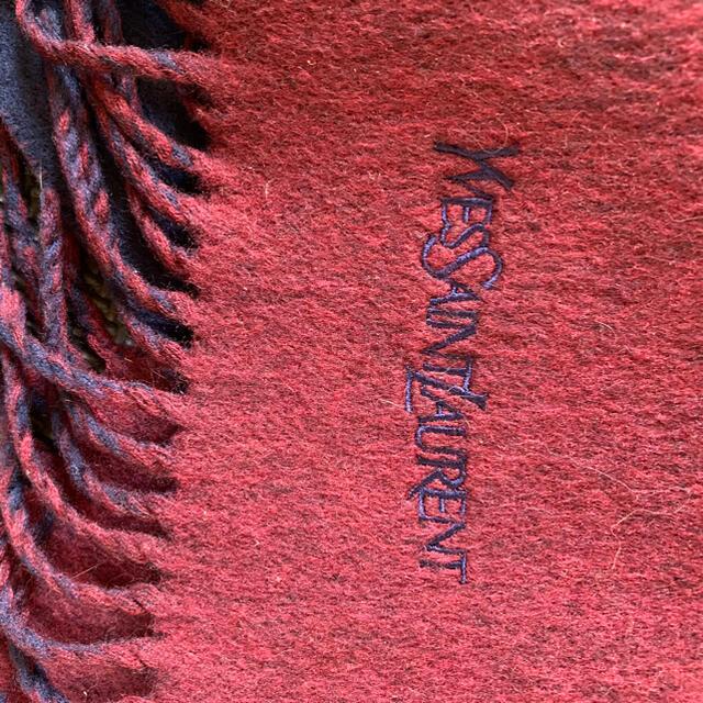 Saint Laurent(サンローラン)のイブサンローラン マフラー レディースのファッション小物(マフラー/ショール)の商品写真