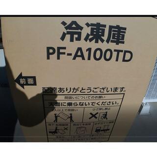 冷凍庫 冷凍庫 100L PF-A100TD-W 新品未開封