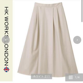シマムラ(しまむら)の合皮スカート(ロングスカート)