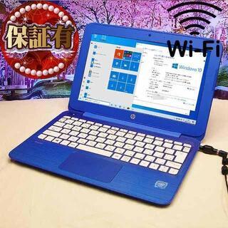 ヒューレットパッカード(HP)の☆特価品☆無線内蔵ノート☆HP stream TPN Q166(ノートPC)