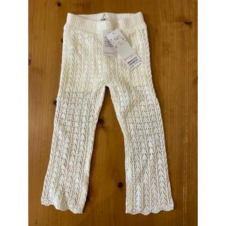 petit main - プティマイン  レース編みパンツ   サイズ100