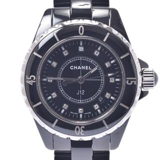 CHANEL - シャネル  J12 33mm 12Pダイヤ 腕時計