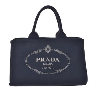 PRADA - プラダ  カナパ ハンドバッグ トートバッグ 黒