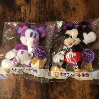 ミッキーマウス(ミッキーマウス)の非売品。・:+°ミッキーマウスぬいぐるみset(キャラクターグッズ)