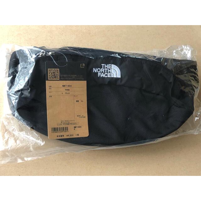 THE NORTH FACE(ザノースフェイス)のブラック★ノースフェイス ★スウィープ ウエストポーチ ウエストバッグ レディースのバッグ(ボディバッグ/ウエストポーチ)の商品写真