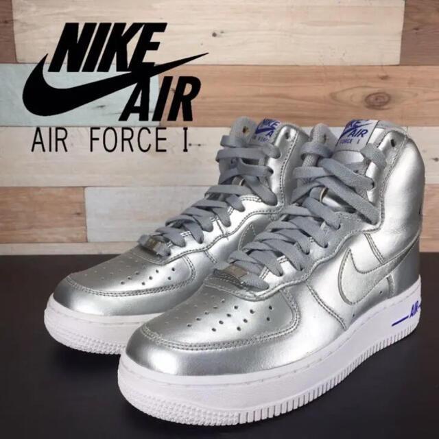 NIKE(ナイキ)のNIKE AIR FORCE 1 HI '09 23.5cm レディースの靴/シューズ(スニーカー)の商品写真
