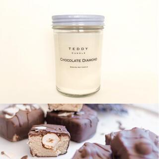 バスアンドボディーワークス(Bath & Body Works)のチョコレートの濃厚な香り★チョコレートダイアモンド★新品アロマソイキャンドル(キャンドル)