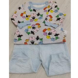 ユニクロ(UNIQLO)のユニクロ バーバパパパジャマ 80サイズ(パジャマ)