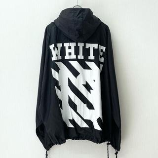OFF-WHITE - 【XL】オフホワイト c/o ヴァージルアブロー リップストップ アノラック