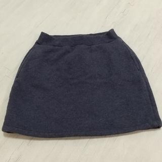 ユニクロ(UNIQLO)のユニクロ 裏地モコモコ スカート 120サイズ(スカート)
