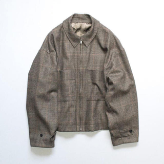 SUNSEA - stein s 19aw OVER SLEEVE DRIZZLER JACKET