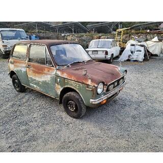 昭和47年 ホンダN360 N-III デラックス 書類付き 不動車