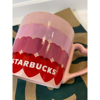 スターバックスコーヒー(Starbucks Coffee)のスターバックス 2021バレンタイン マグカップ新品(マグカップ)