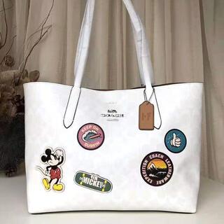 COACH - コーチ COACH  トートバッグ シグネチャー Disney ミッキーマウス