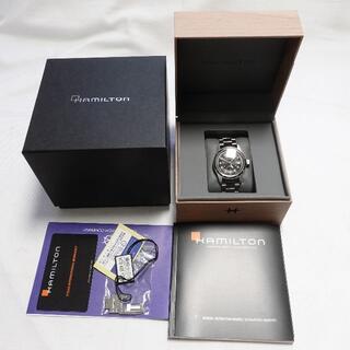 ハミルトン(Hamilton)の[Hamilton] カーキフィールドオート ブラック×シルバー(腕時計(デジタル))
