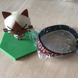 バンダイ(BANDAI)のモンスターハンター アイルーマスコット バンドセット(ゲームキャラクター)