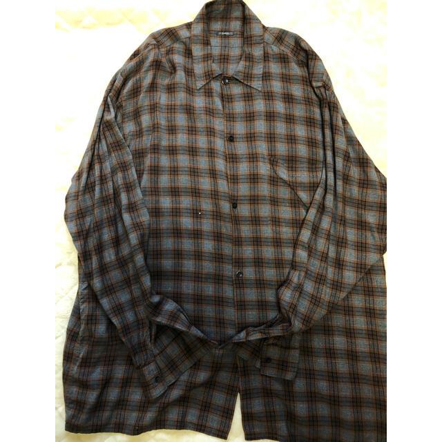 COMOLI(コモリ)のCOMOLI レーヨンオープンカラーシャツ 3 メンズのトップス(シャツ)の商品写真