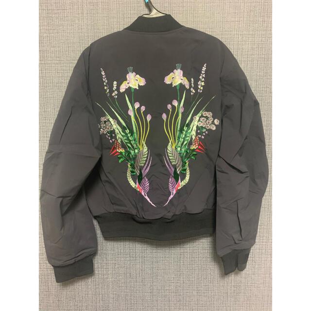 mame(マメ)の『新品』mame 刺繍 ブルゾン ジャケット レディースのジャケット/アウター(ブルゾン)の商品写真