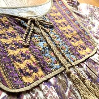 w closet - インド綿 ワンピース