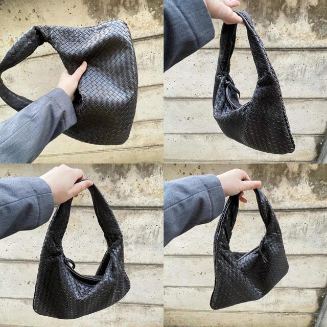 Bottega Veneta(ボッテガヴェネタ)の美品 ボッテガ ヴェネタ トートバッグ ブラウン ショルダーバッグ レディースのバッグ(トートバッグ)の商品写真