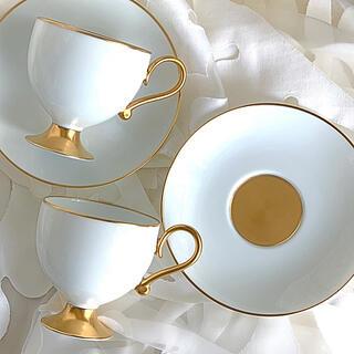 ノリタケ(Noritake)の新品未使用 ノリタケダイヤモンドコレクション 聖杯型 ティーカップ&ソーサー(食器)