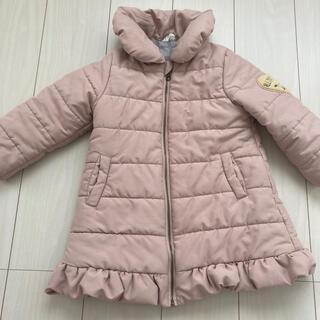 女の子 110 アウター コート ピンク