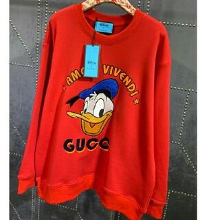 Gucci - ∞GUCCI∞ xディズニー ドナルドダック スウェットシャツ