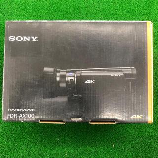 SONY - SONY 4Kビデオカメラ FDR-AX100 店頭展示品