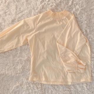 イーハイフンワールドギャラリー(E hyphen world gallery)のカットソーシャツ イエロー(シャツ/ブラウス(長袖/七分))