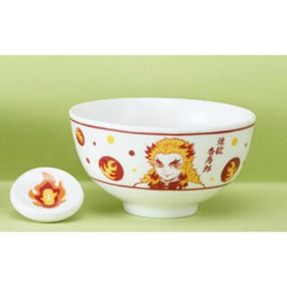 鬼滅の刃 プレミアム茶碗箸置きセット  サイズ:W11×D11×H6