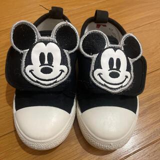 ディズニー(Disney)のディズニーシー Mickey靴 14センチ(フラットシューズ)