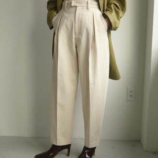 TODAYFUL - トゥデイフル Cotton Boxtuck Pants