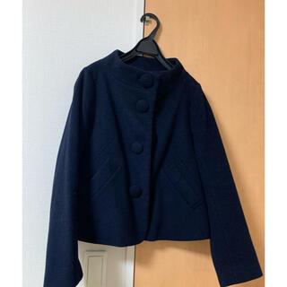 franche lippee - 【美品】フランシュリッペブラック ショートコート ジャケット ネイビー