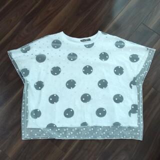 フラボア(FRAPBOIS)のFRAPBOIS ドットTシャツ(Tシャツ(半袖/袖なし))