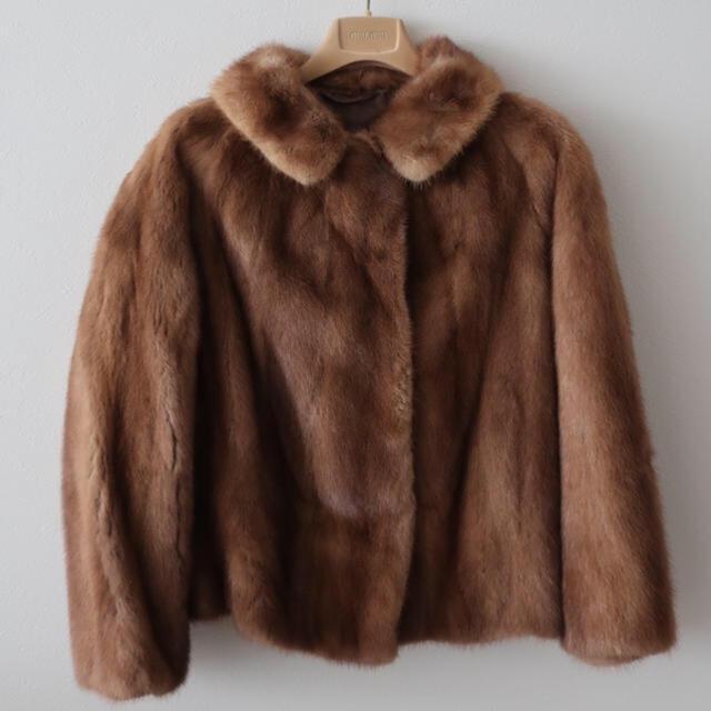 Lochie(ロキエ)のVintage60s リアルミンクファーコート レディースのジャケット/アウター(毛皮/ファーコート)の商品写真