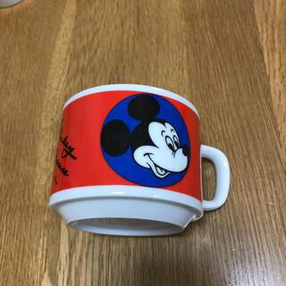 ミッキーマウス(ミッキーマウス)のディズニー ミッキー  ミニー マグカップ  レトロ 昭和(キャラクターグッズ)