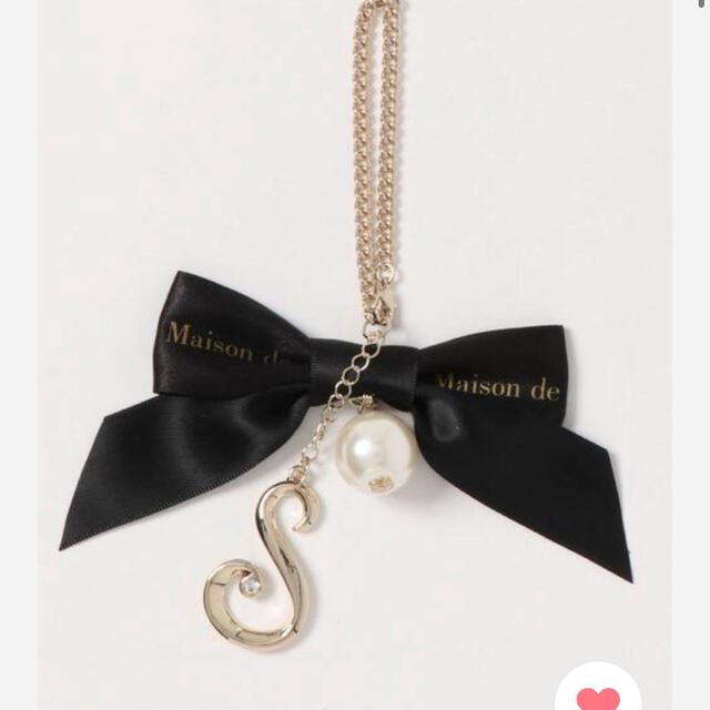 Maison de FLEUR(メゾンドフルール)のメゾンドフルール ストラップ S ハンドメイドのファッション小物(バッグチャーム)の商品写真