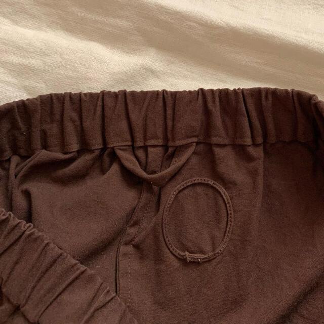 nest Robe(ネストローブ)のAtelier d'antan Parrot コットンパンツ ブラウン レディースのパンツ(カジュアルパンツ)の商品写真