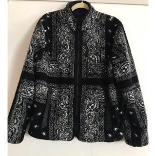 Supreme - Reversible Bandana Fleece Jacket