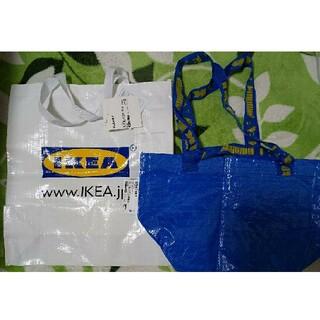 IKEA - イケア 新品 IKEA ブルーバッグSサイズ & ショッピングバッグ クラムビー