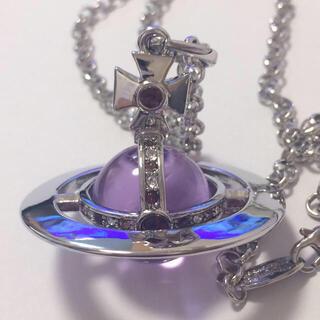 Vivienne Westwood - ヴィヴィアン スモールオーブネックレス silver×紫