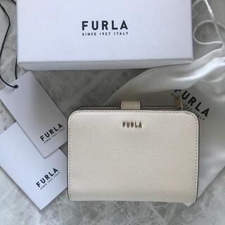 Furla - 新品!フルラ FURLA 二つ折り財布 ホワイト 白